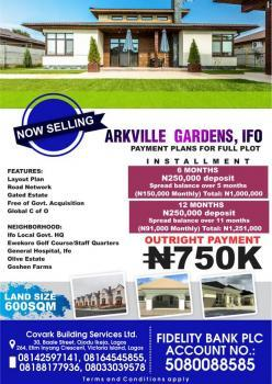 Dry Plots of Land, Via Ifo General Hospital Road, Off Lagos Abeokuta Expressway, Ewekoro, Ogun, Residential Land for Sale