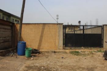 a Strategic Fenced and Gated 246.71sqm Plot of Land, Oke Anaye Close, After Mobil, Onike, Yaba, Lagos, Mixed-use Land for Sale