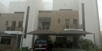 Nicely Finished 4 Bedroom Duplex with a Room Bq, Maitama District, Abuja, Terraced Duplex for Sale