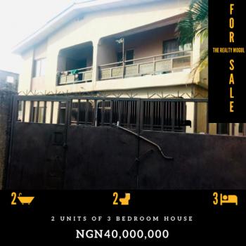 Block of 2 Units of 3 Bedroom Flats, Sango Ota, Ogun, Block of Flats for Sale