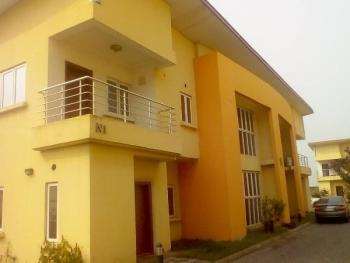4 Bedroom Semi Detached House with Domestic Staff Quarters in a Serviced Mini Estate with Swimming Pool, Gym, North Pointe Estate, Off Cheron Drive, Chevy View Estate, Lekki, Lagos, Semi-detached Duplex for Sale