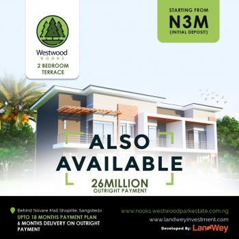 2 Bedroom Terrace, Off Monastery Road, Sangotedo, Ajah, Lagos, Terraced Duplex for Sale