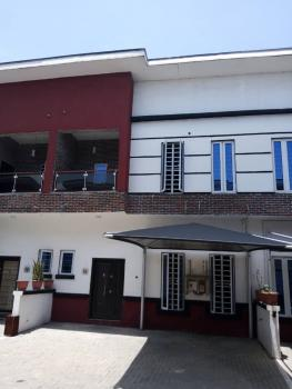 4 Bedroom Terrace Duplex Service Apartment for Rent 2.8m with 24hours Light at Second Toll Gate Lekki, Chevy View Estate, Lekki, Lagos, Terraced Duplex for Rent