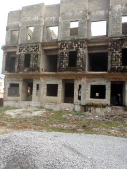 Uncompleted 12 Units of 4 Bedroom Terraced Duplex + Bq, Osapa London, Osapa, Lekki, Lagos, Terraced Duplex for Sale
