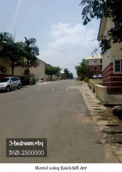 3 Bedroom+ Bq, Apo, Abuja, Terraced Duplex for Rent