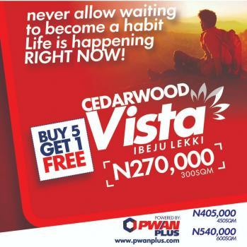 Cedarwood Vista Buy 5 Plots and Get One Free, Mafogunde, Ibeju Lekki, Lagos, Mixed-use Land for Sale