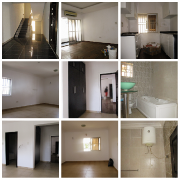 Massive Fitted Mini Flat with a Standby Generator. Guest Toilet (upstairs), Lekki Phase 1, Lekki, Lagos, Mini Flat for Rent