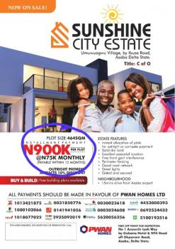 Land in Asaba for Sale with C of O, Umuwuagwu Village By Ibusa Road, Asaba, Delta, Residential Land for Sale