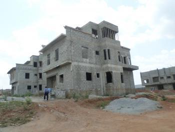 4 Bedroom + Bq Carcass, Life Camp, Gwarinpa, Abuja, Semi-detached Duplex for Sale