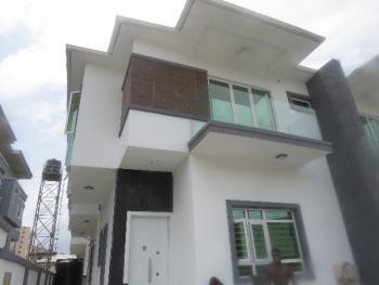 Luxury Spacious 4 Bedroom Duplex with Bq, Canal View Estate, Osapa, Lekki, Lagos, Semi-detached Duplex for Sale