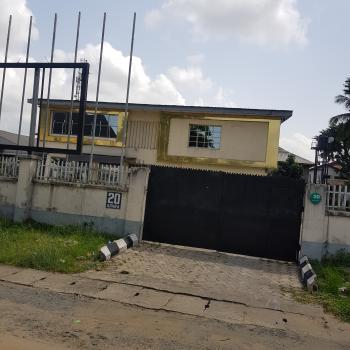 Duplex Inside 2 Plots and Half of Land, in The Most Pricey Place in Gra, Onne Road, Gra Phase 2, Port Harcourt, Rivers, Detached Duplex for Sale