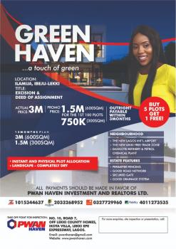 Green Haven Estate .  Government Excision, Ilamija, Ibeju, Lagos, Residential Land for Sale