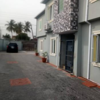 a Brand Newly Built En Suite 2 Bedroom Flat with 3 Toilets and Bath, in a Block of Flats, Fenced Round, Yaba Gra, Saint Agnes, Yaba, Lagos, Flat for Rent