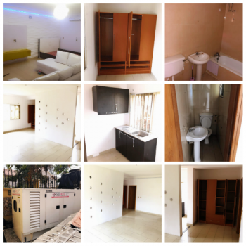 Executive and Massive Studio Apartment (upstairs) with a Standby Gen, Off Admiralty, Lekki Phase 1, Lekki, Lagos, Flat for Rent