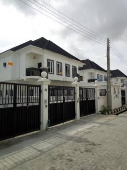 Luxury Brand New 4 Bedroom Semi Detached Duplex with a Room Bq  at Chevron,lekki., Signature Estate, Chevron Drive, Chevy View Estate, Lekki, Lagos, Semi-detached Duplex for Rent