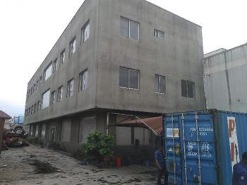 Multi Level Warehouse/office Structure on 8400sqm Land, Plt Cl 2a, Ikosi Road, Oregun Industrial Estate, Oregun, Ikeja, Lagos, Warehouse for Sale