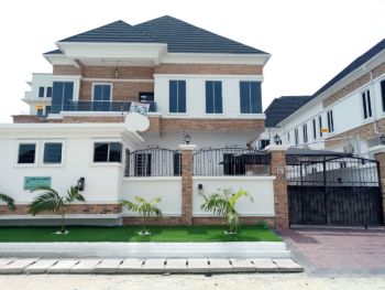 Classically Designed 5 Bedroom Fully Detached Duplex with a Room Staff Quarters, Oral Estate, Immediately After The Second Toll Gate(very Serene and Non-flooded Estate), Lekki Expressway, Lekki, Lagos, Detached Duplex for Sale