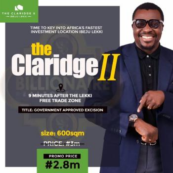 The Claridge 2 Estate, Ogogoro, Ibeju Lekki, Lagos, Residential Land for Sale