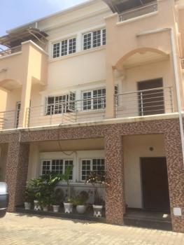 Posh Four Bedroom Terrace Duplex with a Room Bq, Jabi, Abuja, Terraced Duplex for Rent