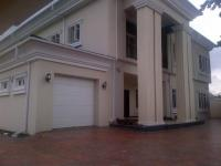 6 Bedroom Mansion(all En-suite) With Jacuzzi, Swimming Pool Fitted Kitchen With Refrigerator And 2 Room Boys Quarters Sitting On 1000 Square Metre, Ikeja GRA, Ikeja, Lagos, 5 bedroom, 6 toilets, 5 baths Detached Duplex for Sale