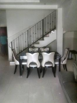 4 Bedroom Furnished Semi Detached,  24hrs Electricity. Just Pay and Pack in., Boudillon Court, Chevy View Estate, Lekki, Lagos, Semi-detached Duplex for Rent