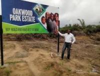 Guaranteed, Plots Of Land @ Oakwood Park Estate, Lekki, Lagos, Land for Sale