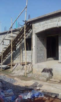 Decked and Uncompleted 2 Bedroom Building, Akerele Str, Off Social Club, Oko-oba, Agege, Lagos, Block of Flats for Sale