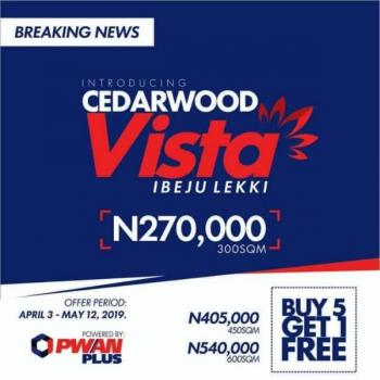 Buy 5 Get 1 Free with Just N270k You Can Get Land in This Estate, Cedarwood Vista, Mafogunde, Ibeju Lekki, Lagos, Mixed-use Land for Sale