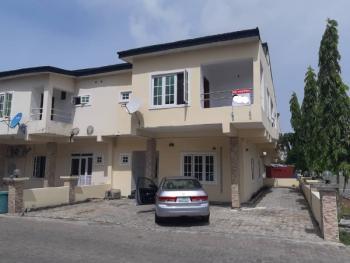 4 Bedroom Terrace Duplex Corner Piece, Lekki Gardens Phase 1 (  Behind Blenco ), Lekki Gardens Estate, Ajah, Lagos, Terraced Duplex for Rent