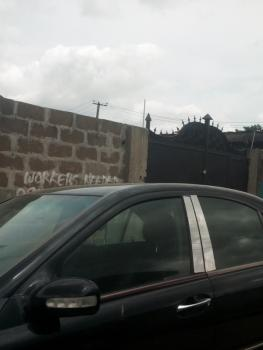 Fenced Half Plot of Land in a Gated Street at Fagba, Off Iju Road, Fagba, Fagba, Agege, Lagos, Residential Land for Sale
