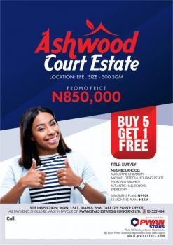 Ashwood Court, Ilara Town, Epe (close to Augustine University), Epe, Lagos, Mixed-use Land for Sale