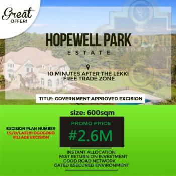 Hopewell Park Estate, Lapekun, Ibeju Lekki, Lagos, Land for Sale
