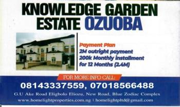 Homelight Gardens Estate, Close to Charles Dale Secondary School, Police Checkpoint, Former Army Range, Eneka, Port Harcourt, Rivers, Mixed-use Land for Sale