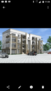 Luxury 3 Bedroom Flats Plus Bq Currently Being Built with Excellent Facilities, Susan Abiola Street, Life Camp, Gwarinpa, Abuja, Flat for Sale