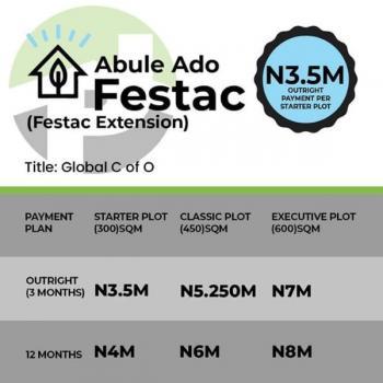Land, Abule Ado, Amuwo Odofin, Isolo, Lagos, Residential Land for Sale