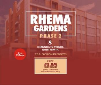 Land for Sale in Isheri North, Along Channels Television Headquarters, Gra, Isheri North, Lagos, Residential Land for Sale
