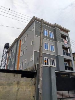 Block of 7 Flats for Cooperate Tenant, Behind Ozone, Sabo, Yaba, Lagos, House for Rent