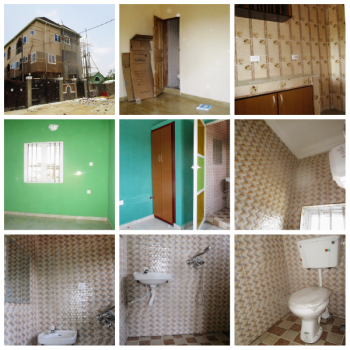 Brand New Room and Parlor Self-contained (mini Flat) 2 Toilets and Upstairs, Abuleado - Soba, Festac, Isolo, Lagos, Mini Flat for Rent