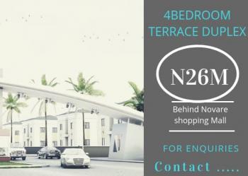 4 Bedroom, Behind Shoprite Mall, Sangotedo, Ajah, Lagos, Terraced Duplex for Sale