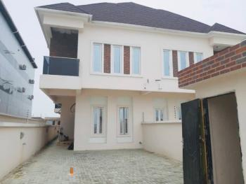 Serviced Four Bedroom Semi Detached House with 24 Ours Power Pre Paid, Lafiaji, Lekki, Lagos, Semi-detached Duplex for Rent