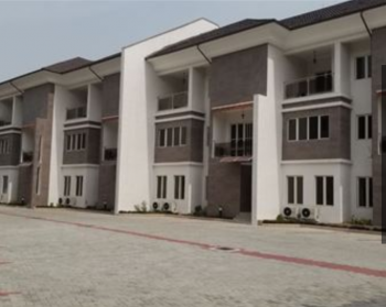 Newly Built 4 Bedroom Terrace House, Falomo, Ikoyi, Lagos, Terraced Duplex for Rent