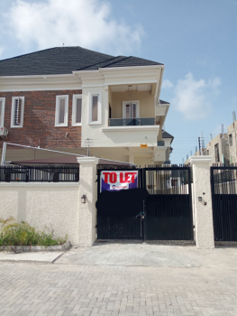 Brand New and Tastefully Finished 4 Bedroom Semi Detached Duplex with Bq, Alternative Route, Chevron Drive, Lekki, Lagos, Semi-detached Duplex for Rent