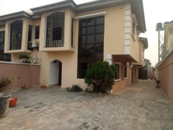 Newly Renovated 4 Bedroom Semi-detached Duplex + 2 Room Bq, Idado, Lekki, Lagos, Semi-detached Duplex for Rent
