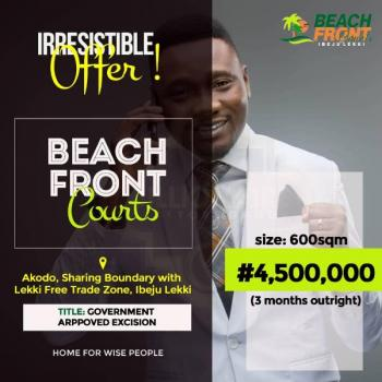 Secure a Plot of Dry Land in Secured Estate with Just a Deposit of N1m, Sharing Boundary with The Lekki Free Trade Zone and Directly Facing Eko Tourist Center, Akodo Ise, Ibeju Lekki, Lagos, Land for Sale