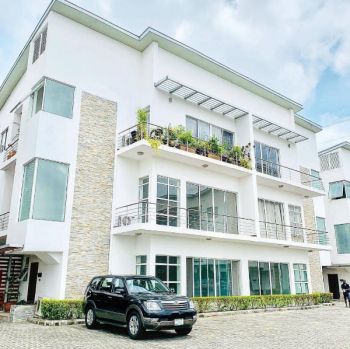 Waterfront Built Elegant 3 Bedroom Flats with 1 Bq, Banana Island, Ikoyi, Lagos, Block of Flats for Sale