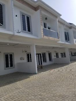 4 Bedroom Terrace Newly Built Terrace House, Orchid Road, Lafiaji, Lekki, Lagos, Terraced Duplex for Sale