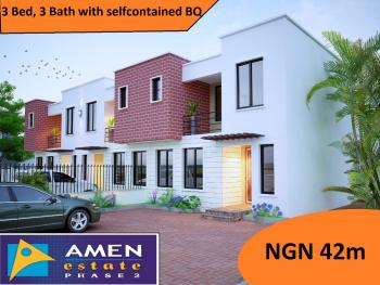 3 Bedroom, Eleko, Ibeju Lekki, Lagos, Terraced Bungalow for Sale