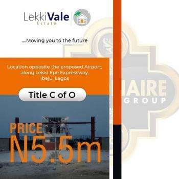 Lekki Vale Estate, Bolorunpelu, Opposite The New International Airport, Ibeju Lekki, Lagos, Residential Land for Sale