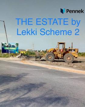 The Estate Is a Serviced Residential Property, Strategically Located Off Adesanya Roundabout, 5 Minutes Drive From Chevron., By Abraham Adesanya, Lekki Phase 2, Lekki, Lagos, Residential Land for Sale