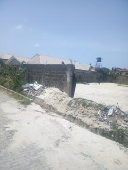 Fenced Full Plot of Land, Before Abraham Adesanya  Round About, Thomas Estate, Ajah, Lagos, Residential Land for Sale
